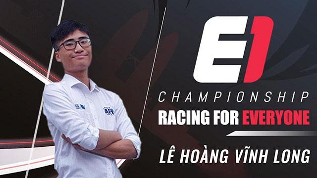 Việt Nam sẽ tham gia giải đua xe Thể thao mô phỏng E1 Championship Season 1