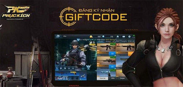 Giftcode Phục Kích Mobile