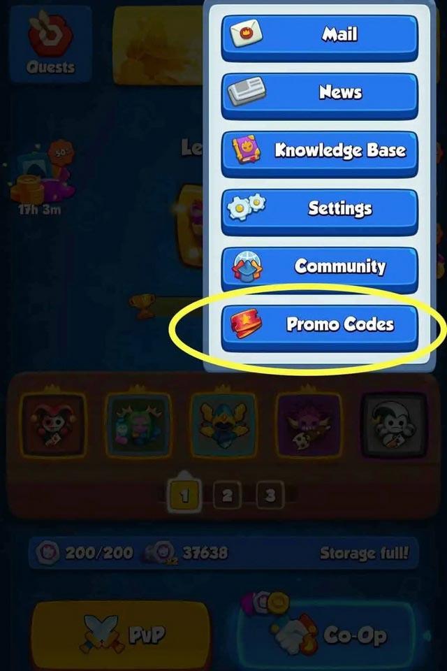 giftcode Rush Royale