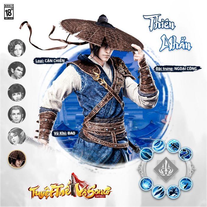 Tuyệt Thế Vô Song Mobile - Tuyệt phẩm nhập vai của ChangYou xác nhận về Việt Nam: Lục đại môn phái, chuẩn chất kiếm hiệp huyền thoại